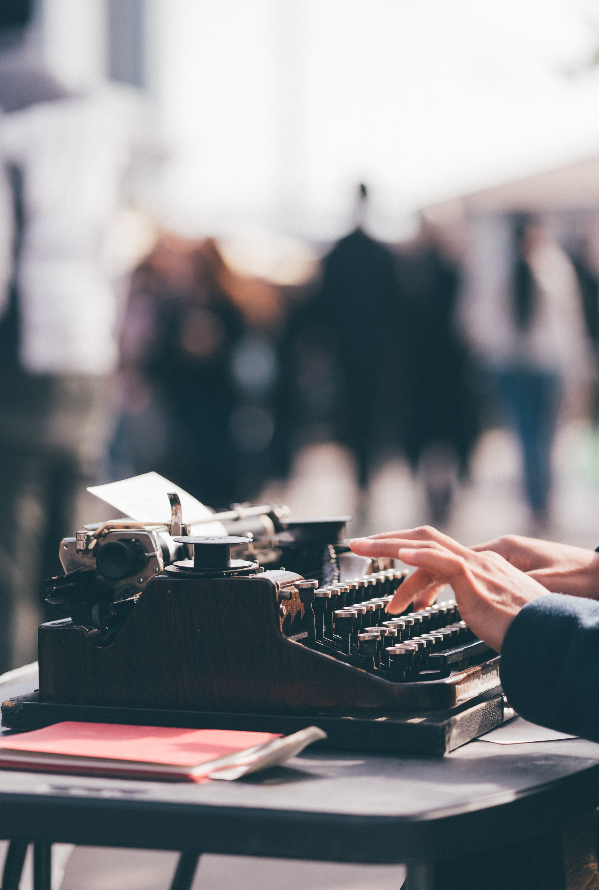 Typewriter Poetry Workshop for Teens